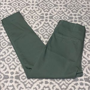 Size 6 Olive Old Navy High Waisted Pants